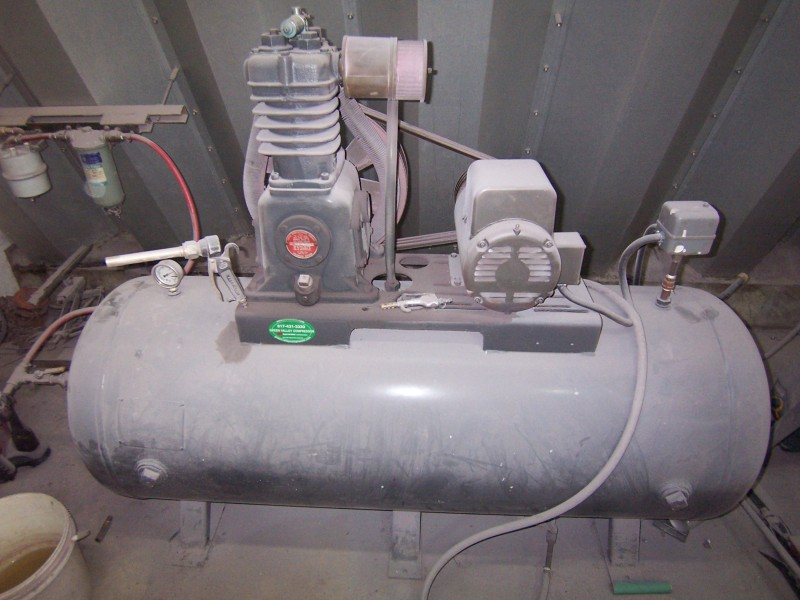 Curtis two stage air compressor