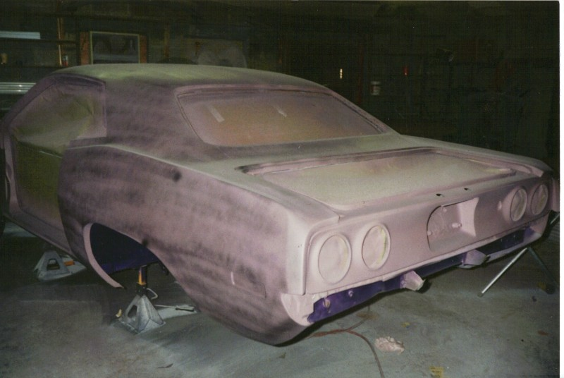 72 cuda race car