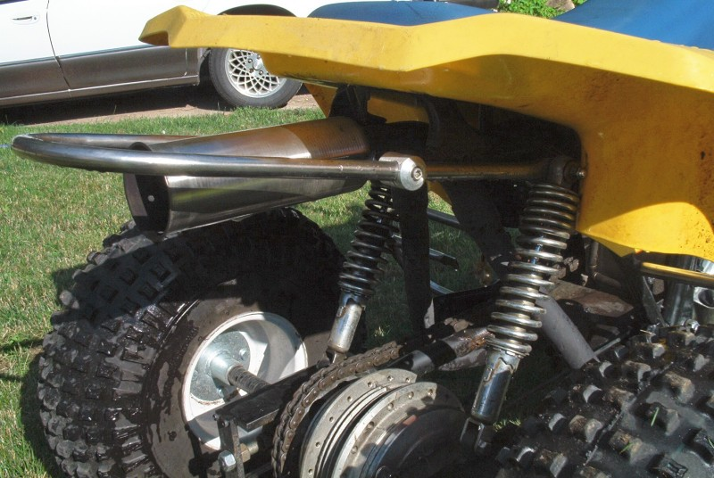 Custom made 4-wheeler